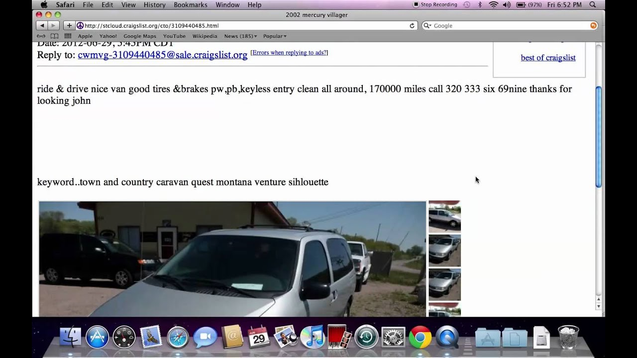 Craigslist St Cloud MN - Used Cars, Trucks, Vans and SUVs ...