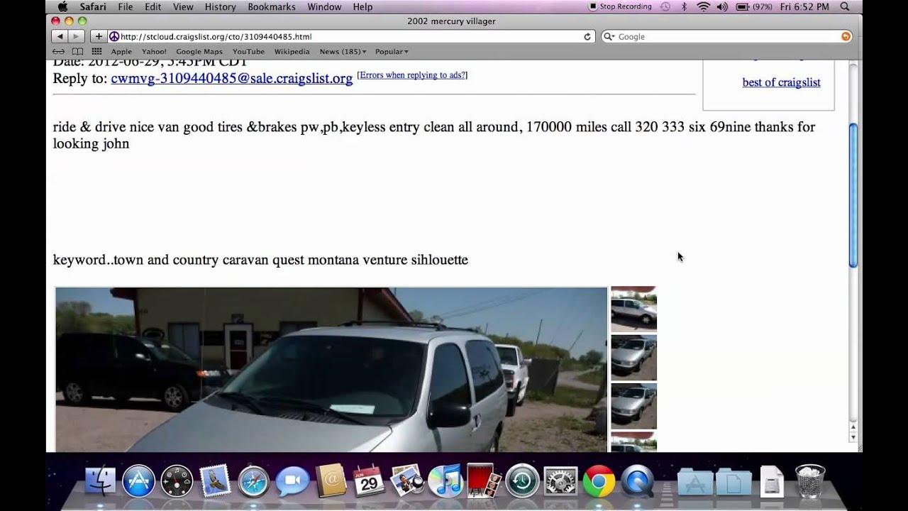 Craigslist St Cloud Mn Used Cars Trucks Vans And Suvs