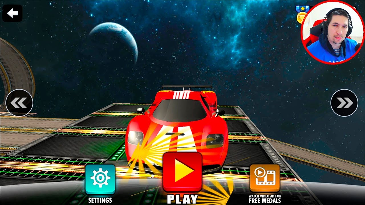 Mega Ramp Racing Impossible Tracks 3D #3 Android Gameplay