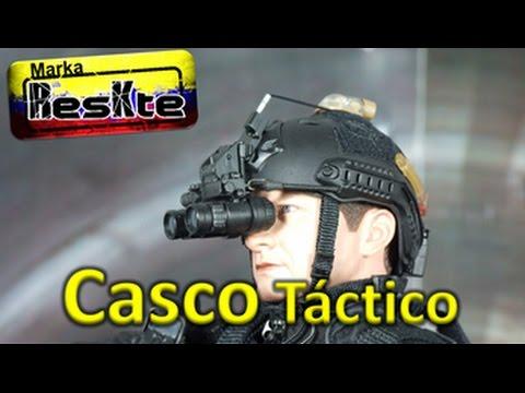 fb65f1d828a Casco Tactico - YouTube