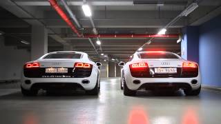[KETOSI] Audi R8 V10 Exhaust Sound (Normal Exhaust vs Tubi Style Exhaust)