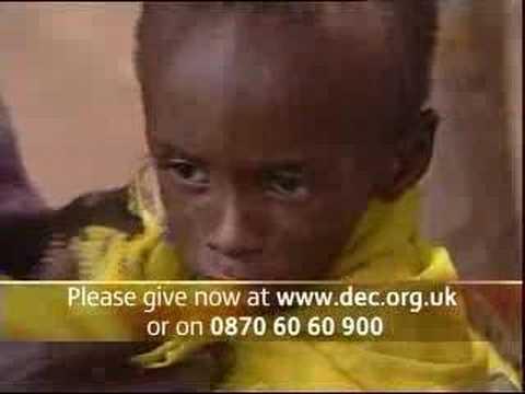 DEC Darfur & Chad Crisis Appeal : ITN Broadcast