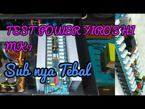 TEST POWER YIROSHI