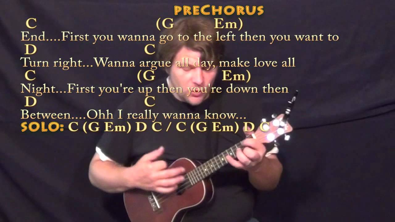 What Do You Mean Justin Bieber Ukulele Cover Lesson in C with  Chords/Lyrics