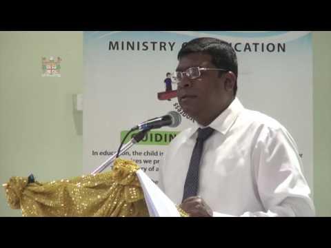 Fijian Minister for Education opens Education Forum 2016, Labasa