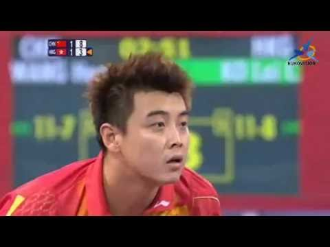 2008  Olympics China Wang Hao Chn vs  Ko Lai Chak HKG