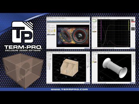 Term-PRO Loudspeaker Enclosure Design Software Video Tutorial