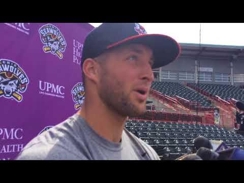 Tim Tebow discusses baseball, the NFL, Urban Meyer