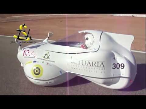 Vehículo eléctrico eficiente FP empresa IES Trinidad Arroyo Palencia - Solar race Cartagena