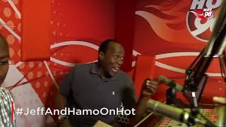 The Hot Breakfast : Judge Joan teaching Prof Hamo some dance moves