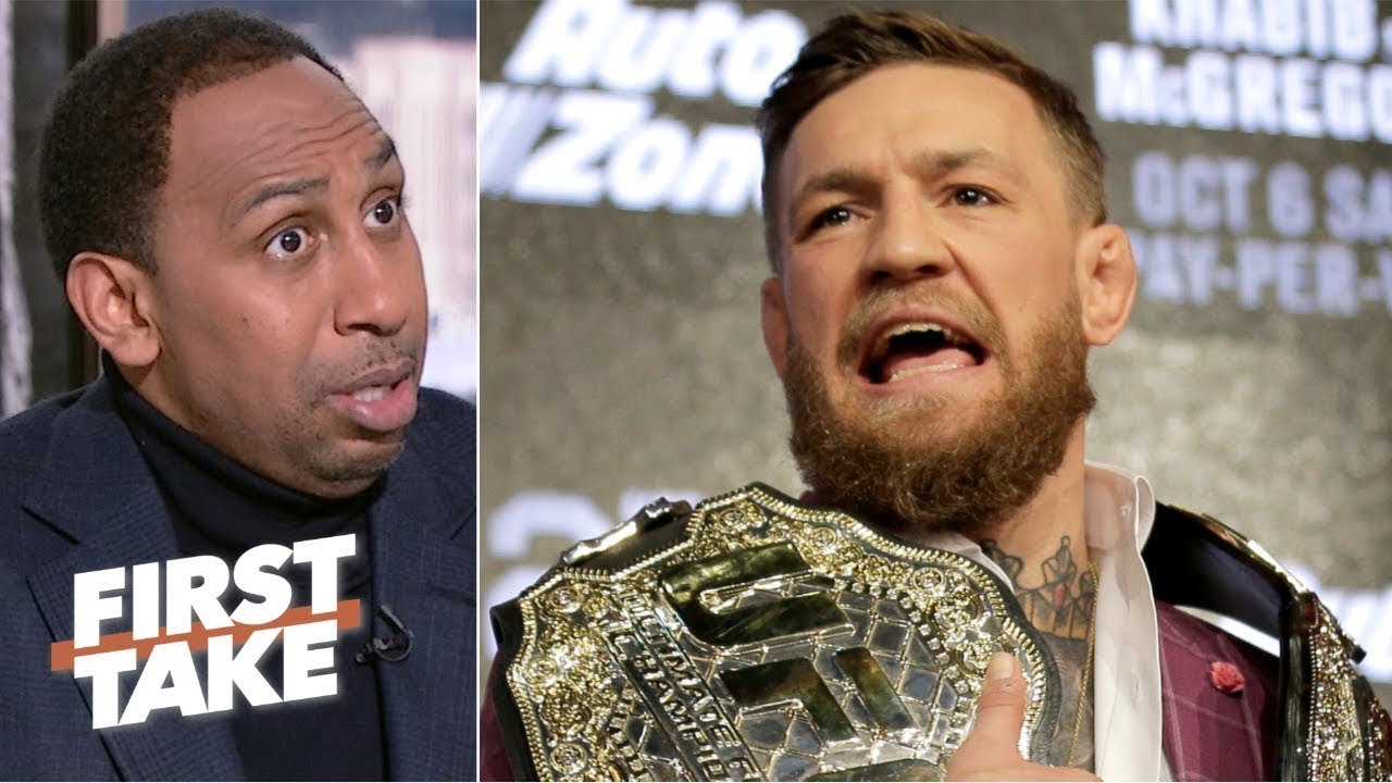 Conor McGregor's retirement from the UFC proves he's 'not a champion' - Stephen A. | First Take