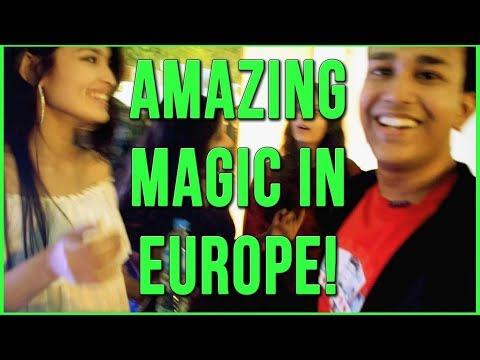 Magic Tricks Compilation in Europe | Alexander Bergil - Magic (Music Video)