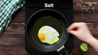 TORTILLA AND OLIVE OIL FRIED EGG WITH AVOCADO AND SPROUTS