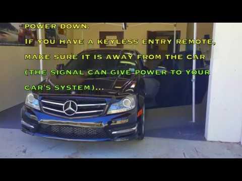 Mercedes C250 Pedal Commander Installation