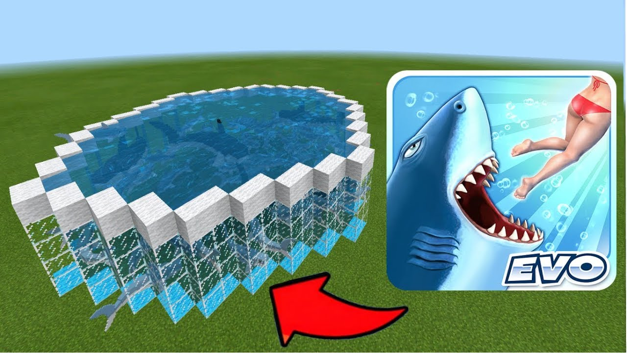 how to get sharks in minecraft pe