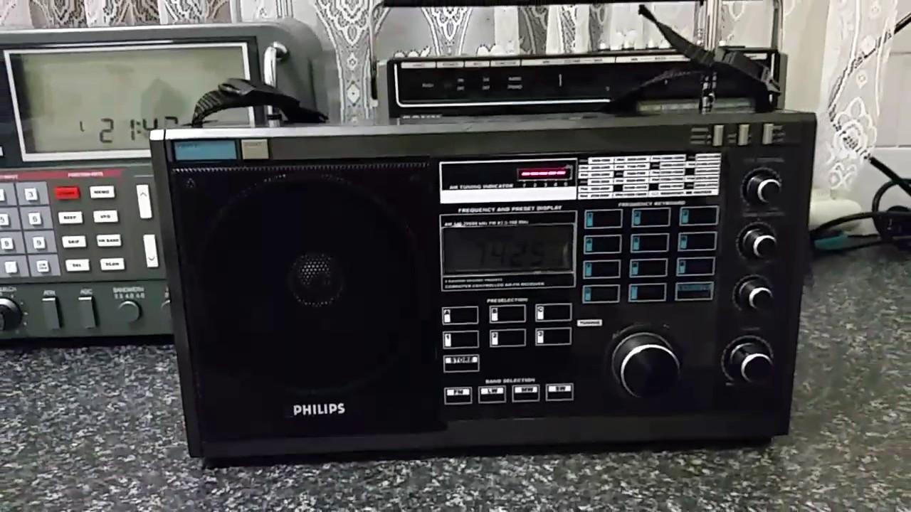 The Philips D2935 Shortwave radio