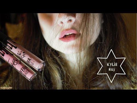 10 Tlye Kylie Ruj Denedim La Fera Kozmetik Kylie Ruj Youtube