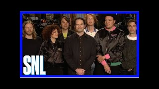 SNL Host Bill Hader Explains Show Biz to Arcade Fire