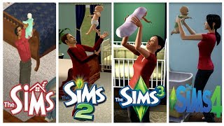 ♦ Sims 1 - Sims 2 - Sims 3 - Sims 4 : Baby Evolution