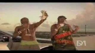 Lil Flip, J-Kwon, Jim Jones - Sunshine Video shoot