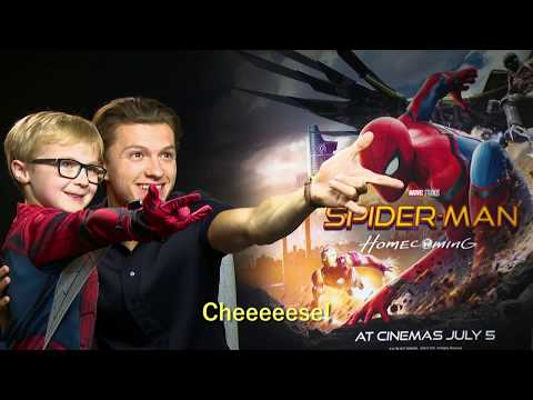 Mini Spider-Man meets Tom Holland & Zendaya - OFFICIAL Marvel | HD