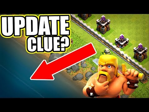 NEW UPDATE CLUE FOR CLASH OF CLANS!? - POSSIBLE NEW FEATURE!!