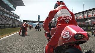 MotoGP 17 - Yamaha YZR500 2002 - Test Ride Gameplay (PC HD) [1080p60FPS]