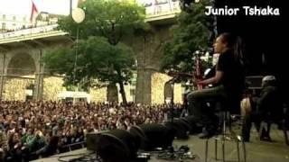 Junior Tshaka et El Hadj Noumoucounda Cissokho à Label Suisse 2010