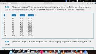 C How to Program (6th edition) - Deitel & Deitel, exercise 3.25