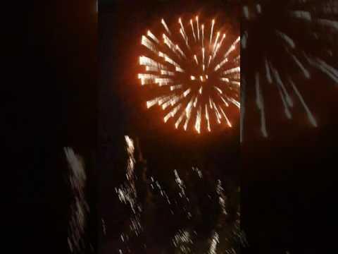 GRFC Footes Lane Fireworks Display 2016