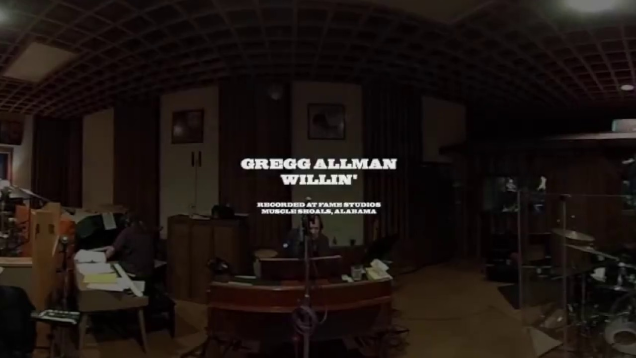 willin 39 360 video gregg allman southern blood youtube. Black Bedroom Furniture Sets. Home Design Ideas