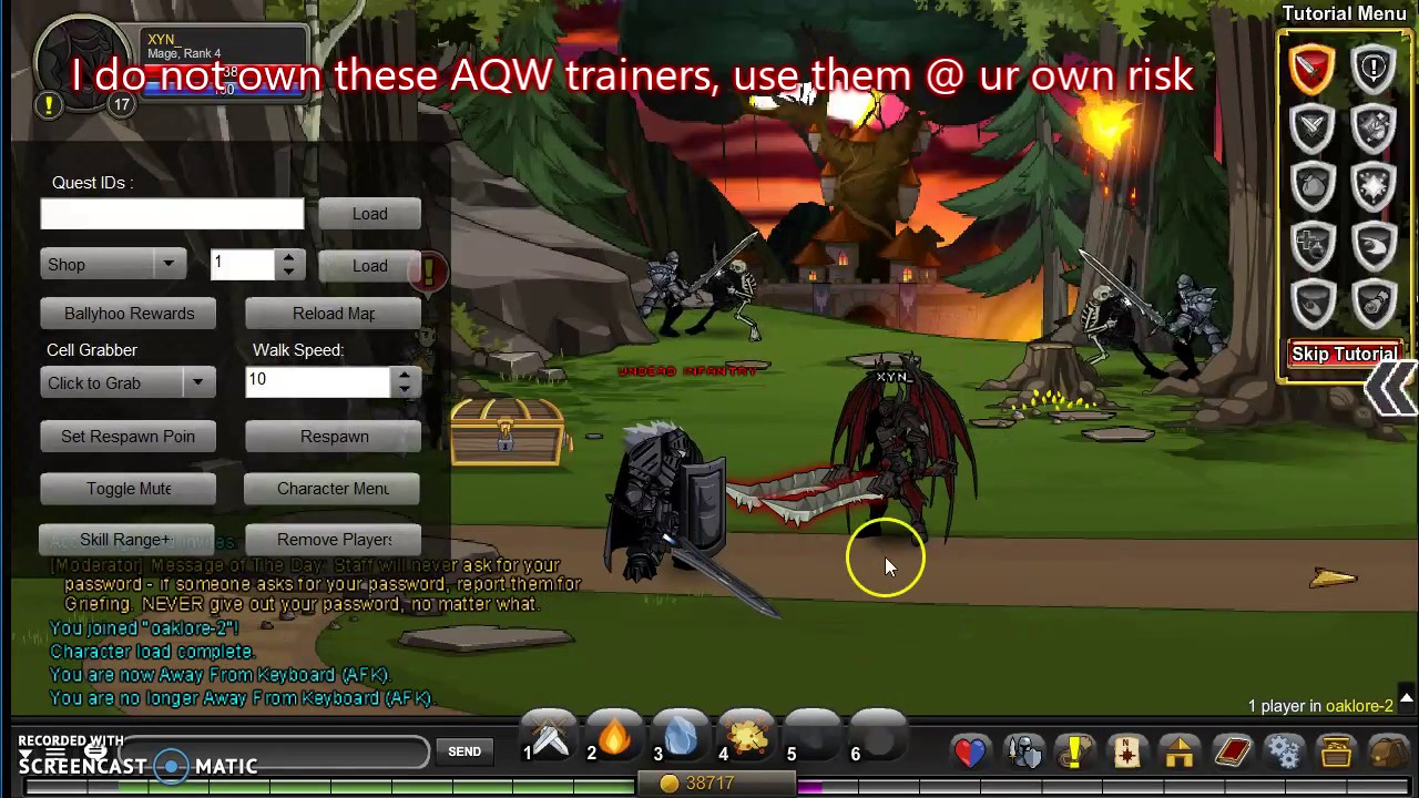 AQW - Top Trainers / Bots + Download Links 2017