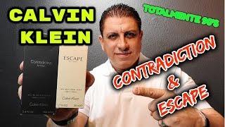 CALVIN KLEIN ESCAPE ( 1993 ) & CONTRADICTION ( 1998 ) Reseña de Fragancias