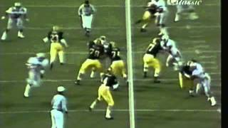 Harbaugh to Kolesar: 1985 Ohio State game