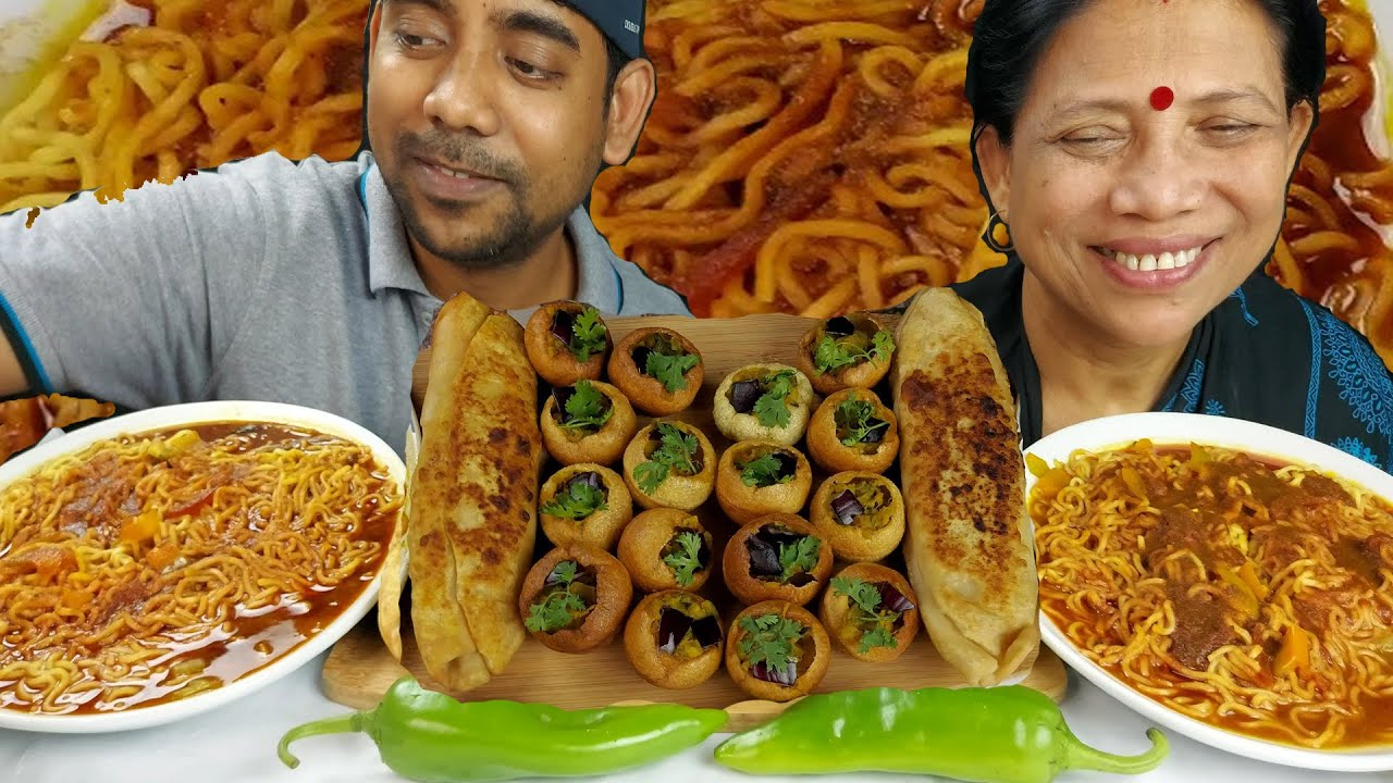 Street Food Challenge with My Mom