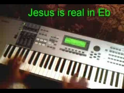 Jesus is real in Eb (Just the main part)