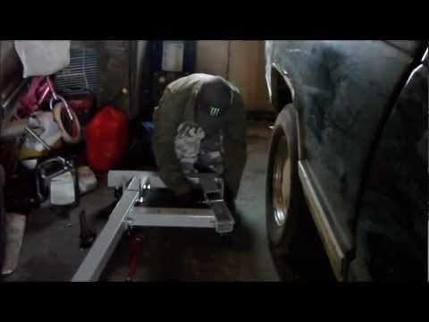 Assembling Duralast 2 Ton Engine Hoist At 4x Speed