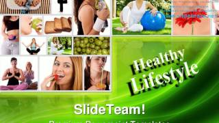 Fitness health powerpoint templates ...