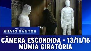 Câmera Escondida (13/11/16) -  Múmia giratória