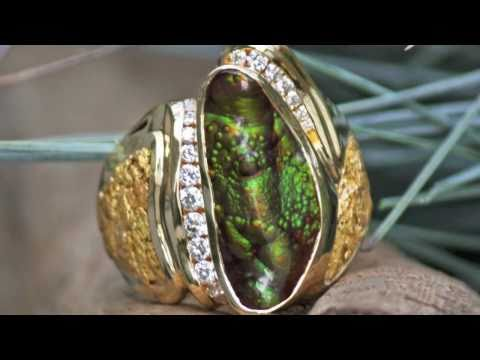 One-of-a-Kind Alaskan Gold Nugget Jewelry