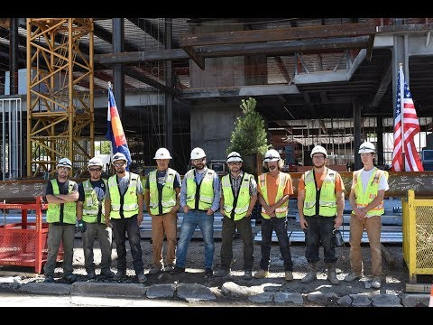Encore Electric Topping Out Civica Cherry Creek In Denver