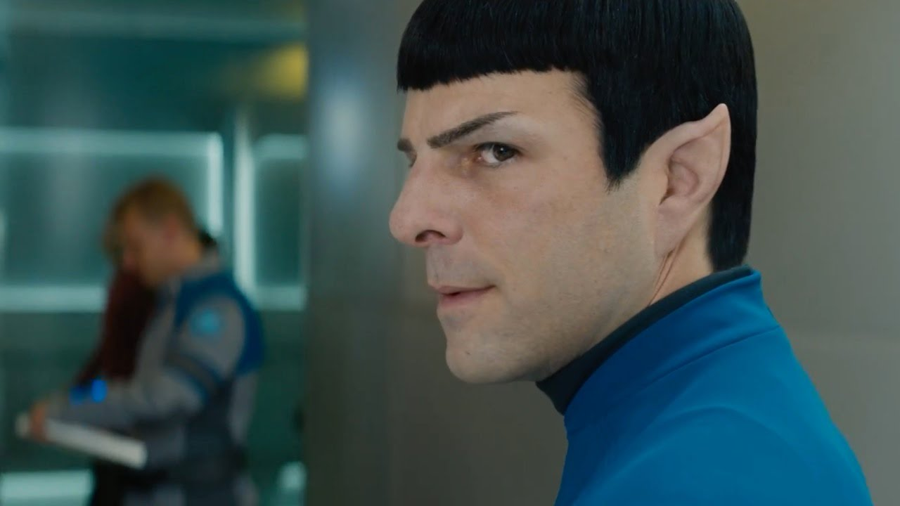 Star Trek Beyond   Its Me, Not You   official FIRST LOOK clip 20 Spock  & Uhura