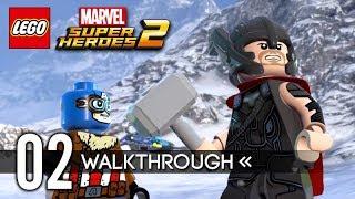 LEGO Marvel Super Heroes 2 | Gameplay Walkthrough | PART 2 - Avenger's World Tour 1/2