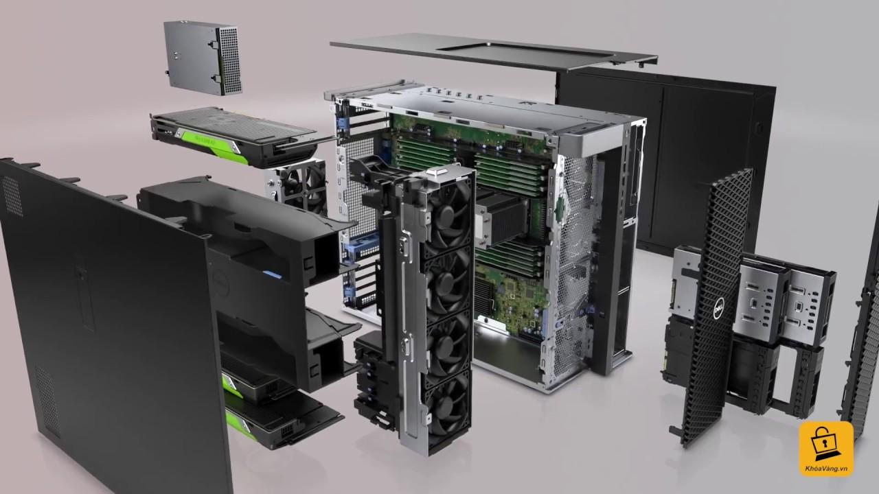 Máy Trạm Precision Dell T7810 nhập khẩu từ USA tại Máy Tính Khoá Vàng