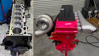 homepage tile video photo for Building a 1200HP Barra (GT350 Engine Swap)