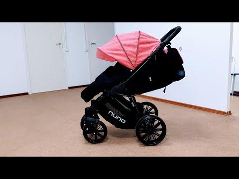 Купить прогулочную коляску Riko Nuno 2019 г. Ширина 58 см., Длина спальника 92 см.!