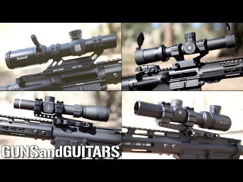 Best BUDGET AR Optics UNDER $200 (Low Magnification Rifle Scopes)