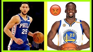 The 2 Most Overrated PLAYERS in all of NBA Sport History!! (Draymond Green, Ben Simmons)