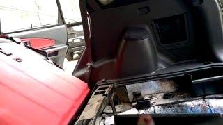 Разборка обшивок багажника Hyundai Tucson смотреть