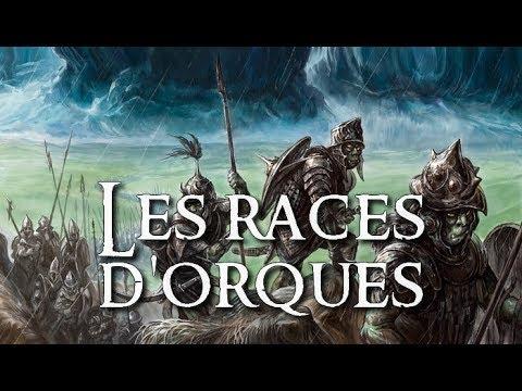 Les races d'Orques - L'univers de Tolkien